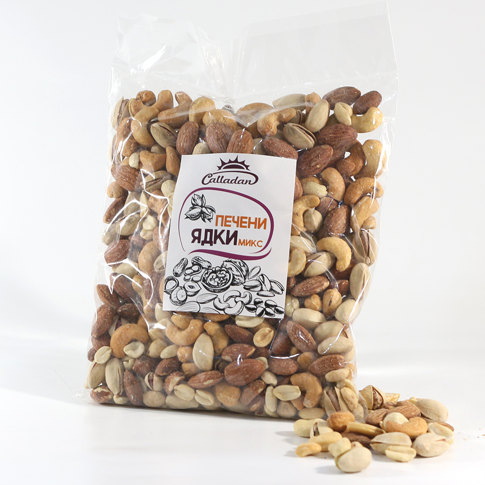 Roasted nuts - mix - 0.500 kg.