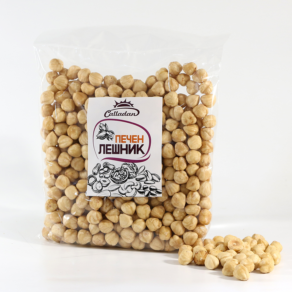 Roasted hazelnuts - 0.500 kg.