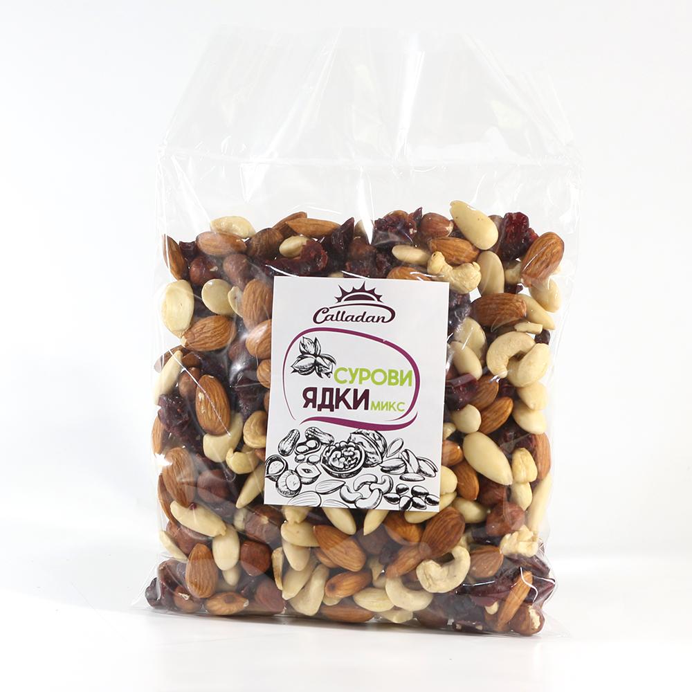 Raw nuts MIX - 0.500 kg.