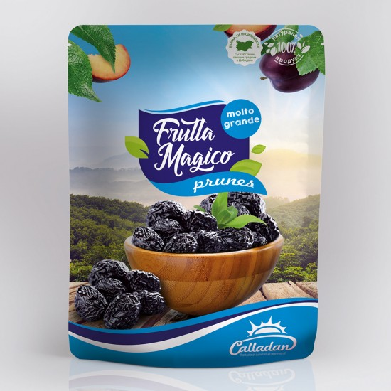 President Pitted Dried Prune -  0.2 kg. Package