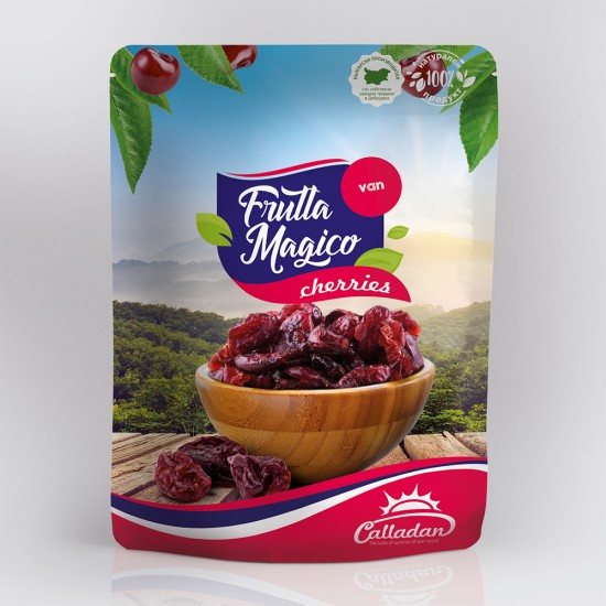 Dried pitted Van Cherries - 0.2 kg. Package