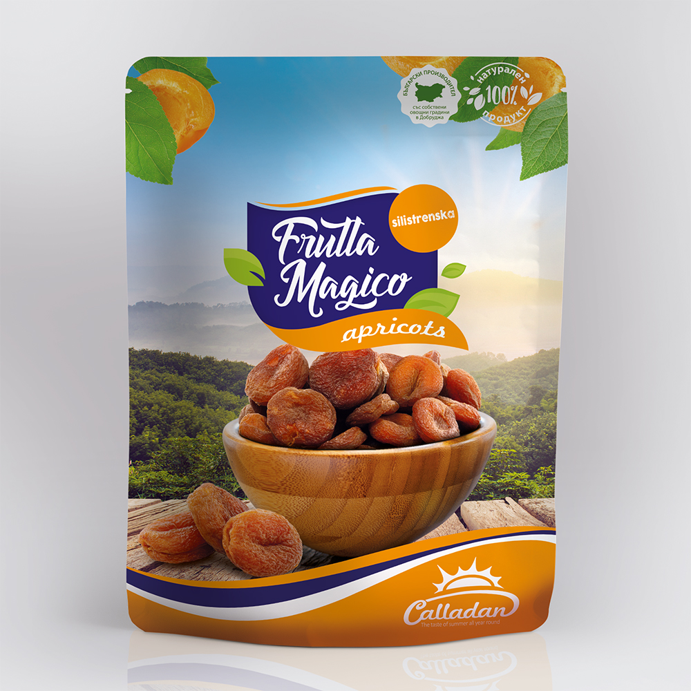 Silistra Compote Dried Pitted Apricot  -  0.2 kg. Package