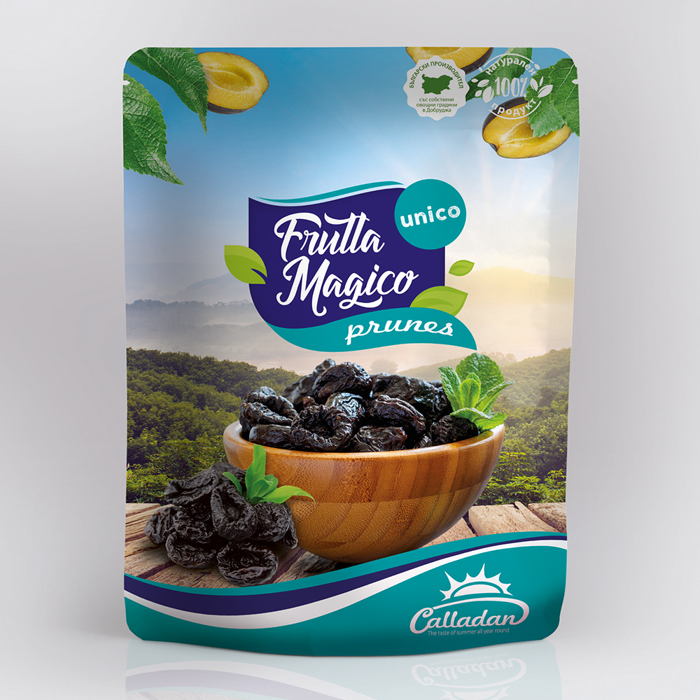 Stanley Dried Prune without stone - 0.2 kg. Package