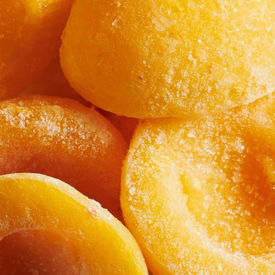 Frozen pitted Silistra Compote Apricot in half